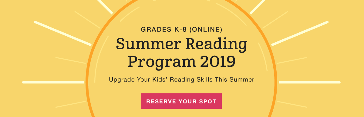 Summer Reading Program 2019 - Reserve Online