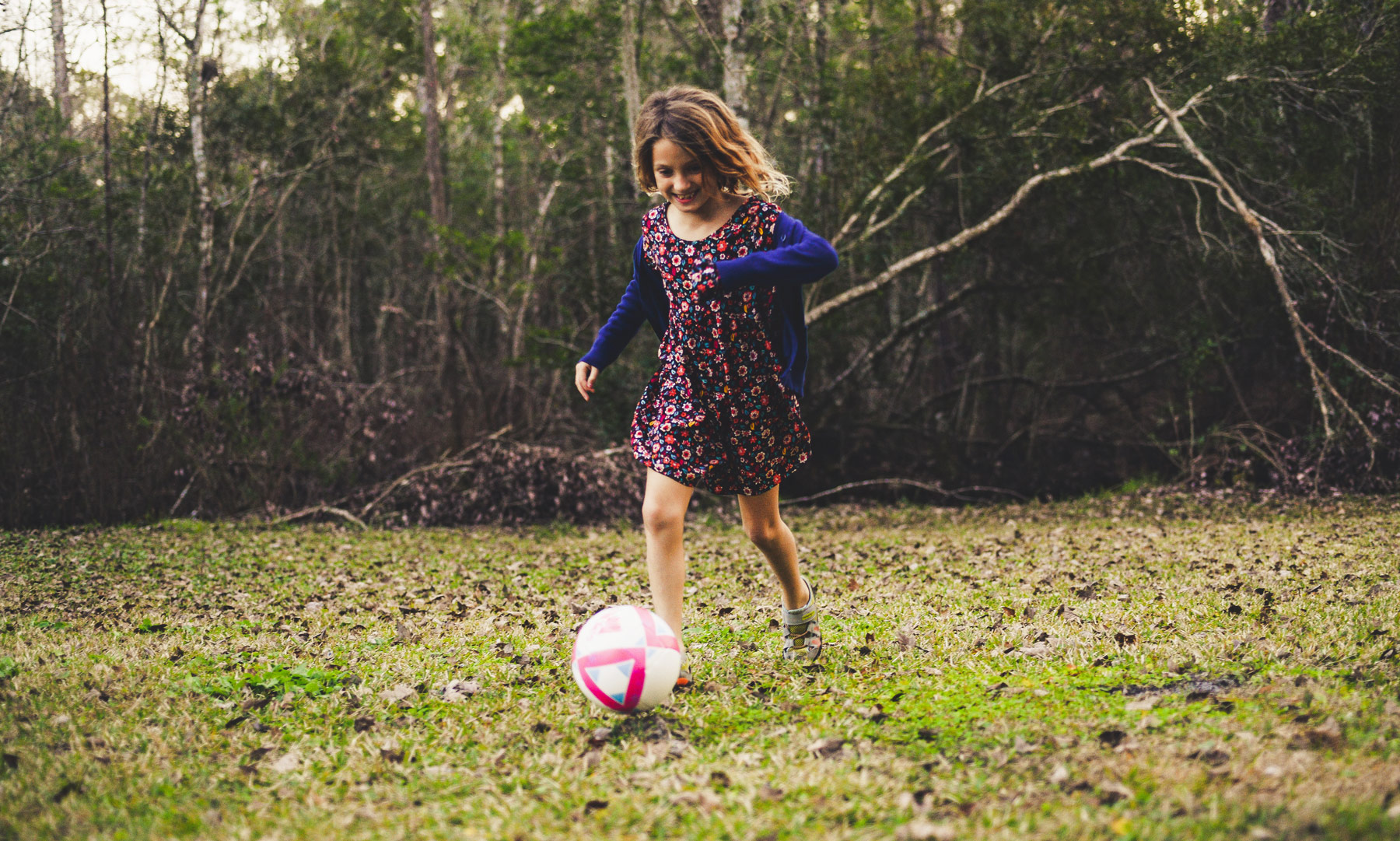 Laterality - Girl Playing Soccer